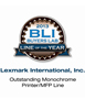 Buyers Laboratory Inc. Monochrome Printer/MFP Line of the Year