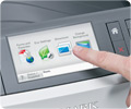 Intuitive Colour Touch Screen