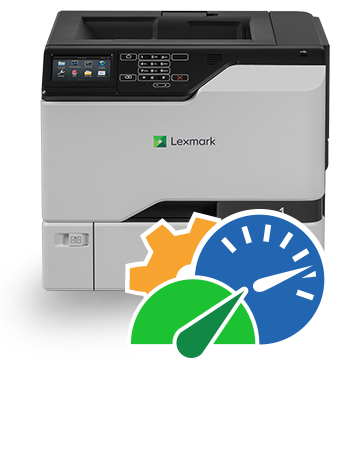 Cs720 725 Series Color Laser Printer Lexmark Medium