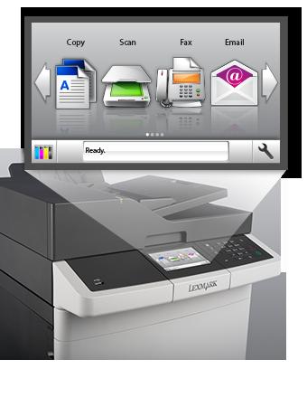 Cx310 410 Series Multifunction Color Laser Printer