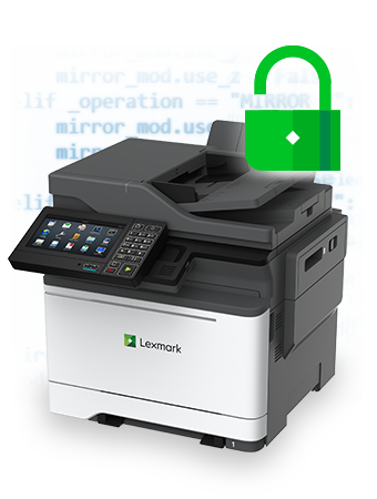 Image result for lexmark products secure