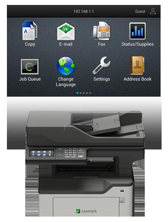 MX520 Series Multifunction Monochrome Laser Printer | Lexmark