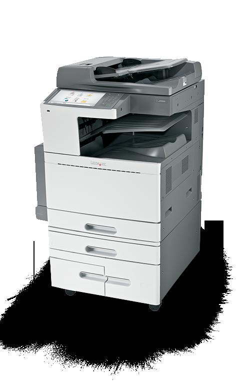 X950 Series Multifunktions Farblaserdrucker Lexmark
