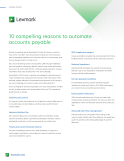 10 Compelling Reasons to Automate Accounts Payable