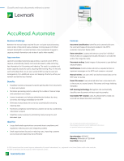 Lexmark AccuRead Automate