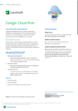Google Cloud Print™