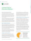 Lexmark Secure Document Monitor