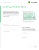 Top 5 U.S. Public School District