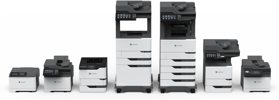 New 2018 Lexmark Printers and MFPs