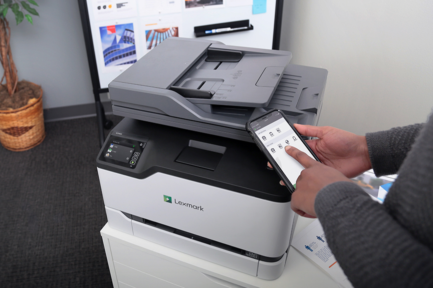Mobile use with printer