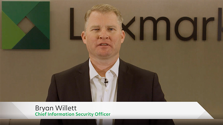 Lexmark Bryan Willett Security