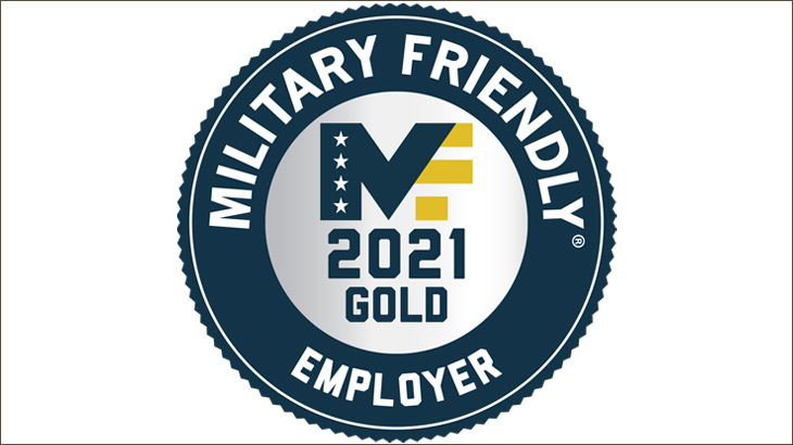 Lexmark named 2021 Military Friendly Employer