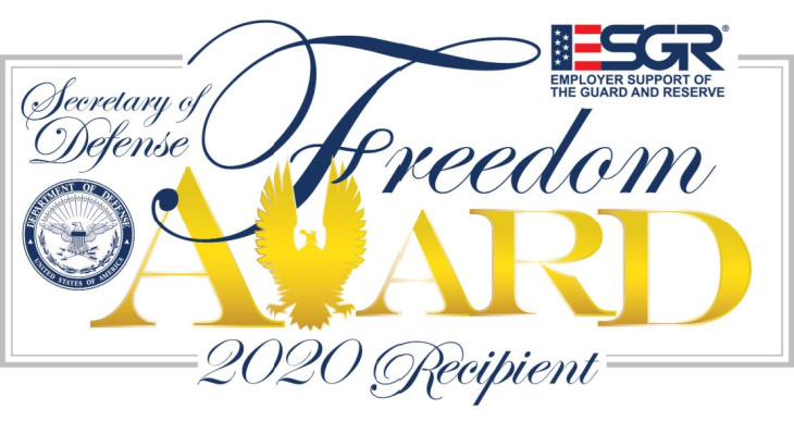 US Department of Defense Honors Lexmark with Freedom Award