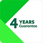 4 Years Guarantee