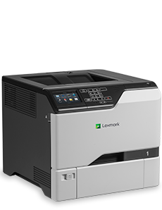 Product photography of printer - turned 3/4 to the right