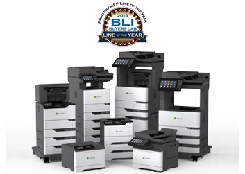Range of products being awarded from BLI Line of the Year.