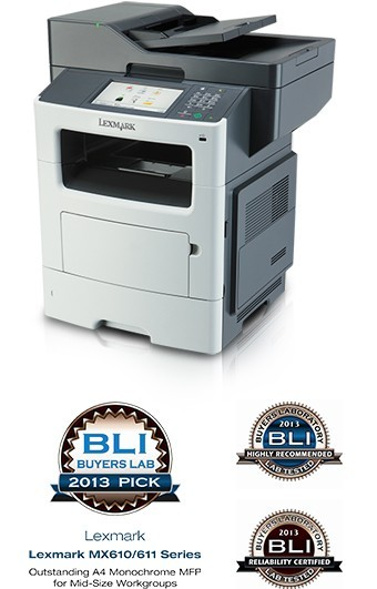 MX610/611 wins 2013 Pick Award from BLI