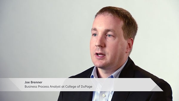 College of DuPage Success Story Testimonial